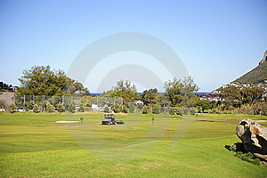 Golf Driving Range Royalty Free Stock Image - Image: 6478876