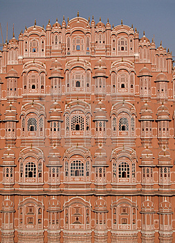 Hawa Mahal, The Palace Of Winds Stock Images - Image: 6480174