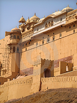 Amber Fort, Jaipur, India Stock Images - Image: 6480294