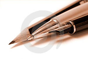 Writing tools Royalty Free Stock Images