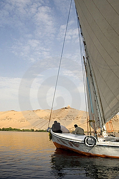 Sailing The Nile River Stock Photo - Image: 6487460
