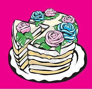 Cake Stock Image - Image: 6488041