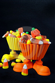 Corn Candy Cups Stock Photos - Image: 6494533