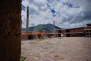 Tibet's Temples Stock Photos - Image: 6497023