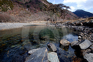 Plateau On The River Stock Images - Image: 6497024