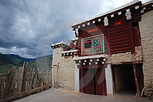 Tibet's Temples Stock Image - Image: 6497041