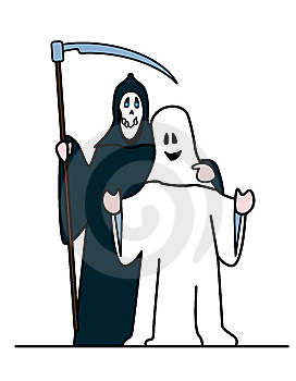 Haloweenbuddies 1 Stock Photography - Image: 6497072
