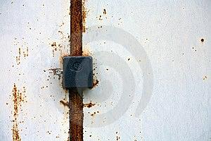Forgotten Door Royalty Free Stock Images - Image: 6497629