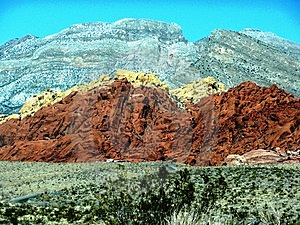 Red Rock Canyon Las Vegas   Stock Images - Image: 6498204