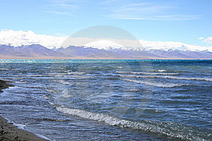 Tibet's Nam Co Lake Stock Photography - Image: 6499122