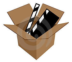 Film In Cardboard Box Stock Photos - Image: 6499533