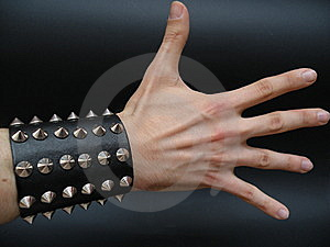 White Hand Royalty Free Stock Photography - Image: 6499827