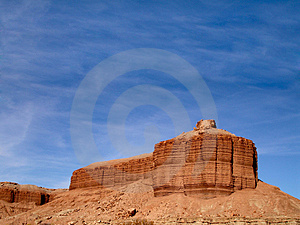 Plateau And Sky Stock Image - Image: 650791
