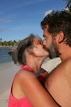 Caribbean Kiss Royalty Free Stock Images - Image: 654889