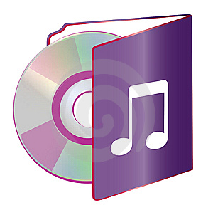 Folder Disc Stock Image - Image: 6502451