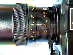 8 Mm Camera Detail Royalty Free Stock Photo - Image: 6504145