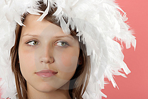 Portrait Of The Beautiful Young Girl Royalty Free Stock Photo - Image: 6507415