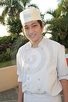 Chef At Buffet Royalty Free Stock Photos - Image: 6507968