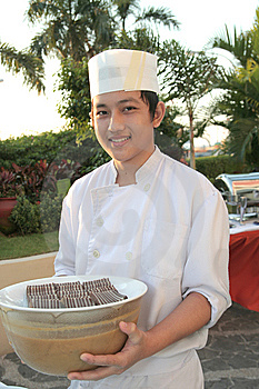Chef At Buffet Royalty Free Stock Photography - Image: 6507977