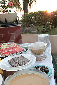 Dessert At Buffet Royalty Free Stock Photo - Image: 6508035