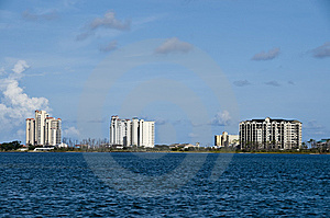 Condos By The Sea Royalty Free Stock Photography - Image: 6508687