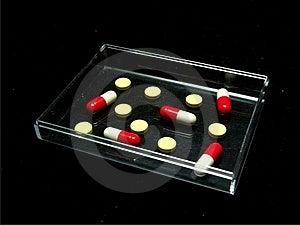 Tabletten En Capsules Stock Afbeelding - Afbeelding: 6508761
