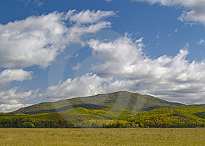Summer Landscape With Mountain Royalty Free Stock Image - Image: 6508916