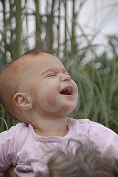 Ecstatic Baby Stock Photography - Image: 6509272