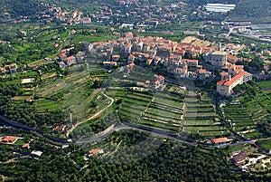 Diano Castello Stock Image - Image: 6509361