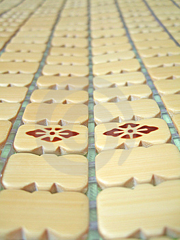 Bamboo Mat Stock Photography - Image: 6509652