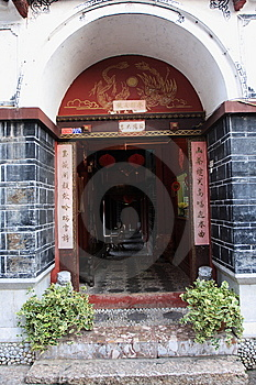 Lijiang ,a Beautiful Small Town In China Royalty Free Stock Images - Image: 6510139