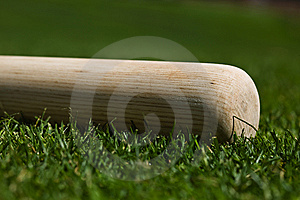 Baseball Bat Royalty Free Stock Photography