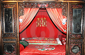 Chinese Ancient Furniture Stock Photo - Image: 6516150