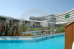 Modern Turkish Hotel Stock Photo - Image: 6517200