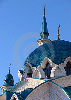 Kol Sharif Mosque 05 Royalty Free Stock Image - Image: 6517286