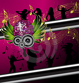 Musical Banner/poster Vector  Stock Photography - Image: 6518632
