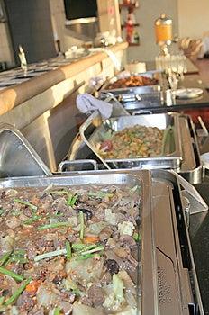 Food At Buffet Royalty Free Stock Photos - Image: 6519158