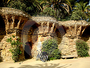 Guel Park Of Gaudi Royalty Free Stock Image - Image: 6522466