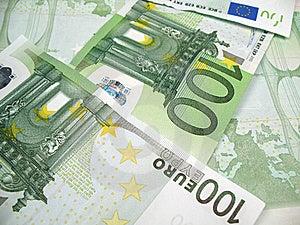 Euro Banknotes Close-up Stock Photo - Image: 6523900