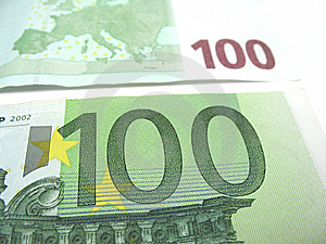 Hundred Euro Close-up Royalty Free Stock Photos - Image: 6523968