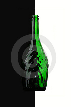 Green Bottle. Stock Images - Image: 6523994
