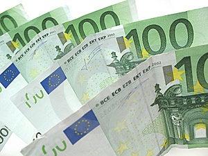 Euro Bills Royalty Free Stock Photos - Image: 6524038