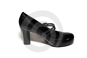Black Shoe Stock Photography - Image: 6525622