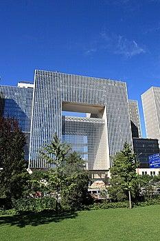 οικοδόμηση του Πεκίνου σύγχρονη Στοκ φωτογραφία με δικαίωμα ελεύθερης χρήσης - εικόνα: 6526867