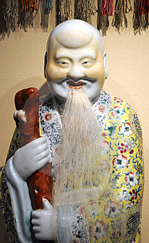Ancient Chinese Figure With Long Life Royalty Free Stock Photo - Image: 6527675