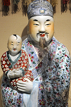 Ancient Chinese Sculpture Royalty Free Stock Photography - Image: 6527687