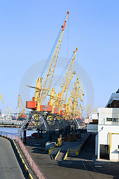 Cranes Royalty Free Stock Image - Image: 6529986