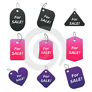 Colored Tags - For Sale Stock Photos - Image: 6530013