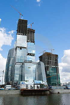 Moscow City 6 Royalty Free Stock Images - Image: 6531029