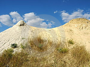 Chalk And Clay Hills Royalty Free Stock Photos - Image: 6531258